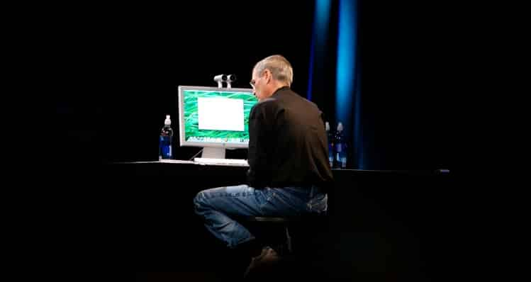 Steve Jobs marca personal