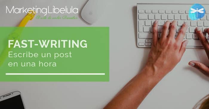fast-writing