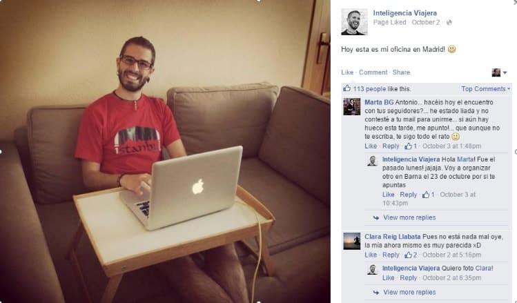 Antonio G de Inteligencia Viajera marca personal con el Lifestyle