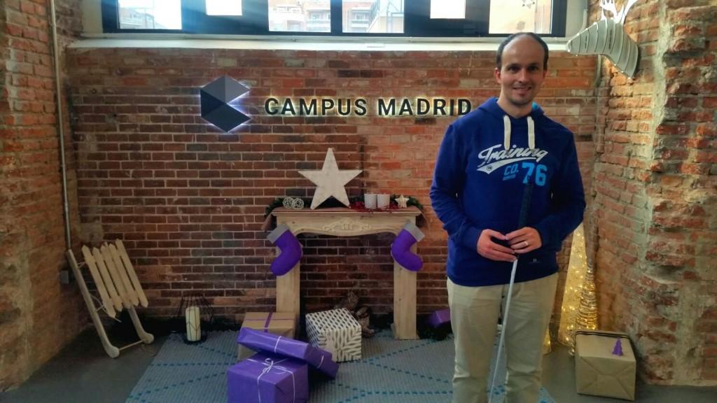 Carlos Arbós en Google Campus