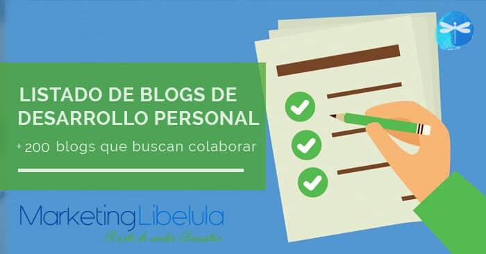 200 blogs de desarrollo personal que quieren colaborar