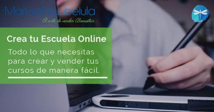 Crear escuela online coach