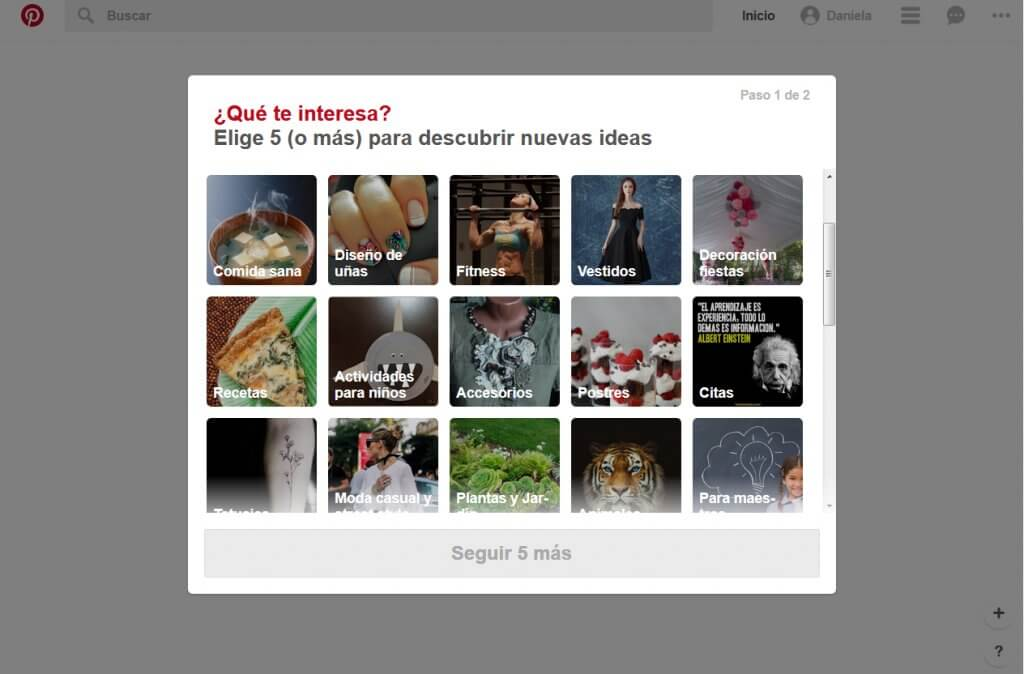 Pinterest para profesionales del bienestar