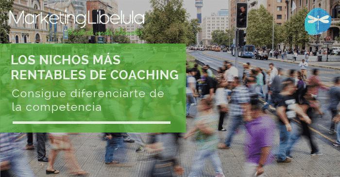 nichos más rentables de coaching