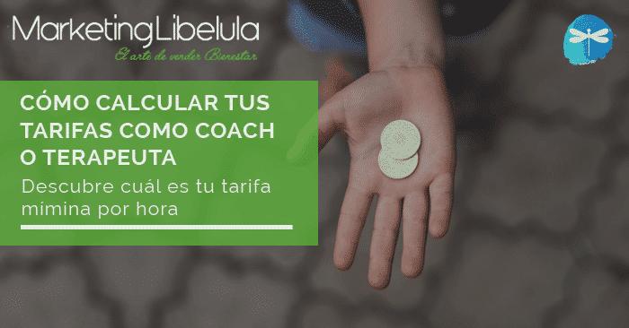 calcular tus tarifas como coach o terapeuta